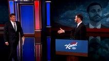 David Boreanaz Investigates VP Candidate Jimmy Kimmels Emails