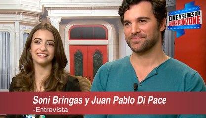 """A solas con Soni Bringas y Juan Pablo Di Pace de """"Fuller House"""", por Javier Ponzone"""