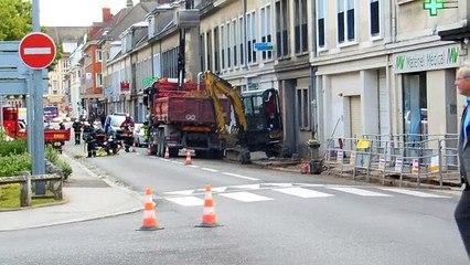 Beauvais : fuite de gaz dans le centre-ville