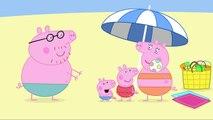 Peppa Pig Cartoon      At The Beach clip