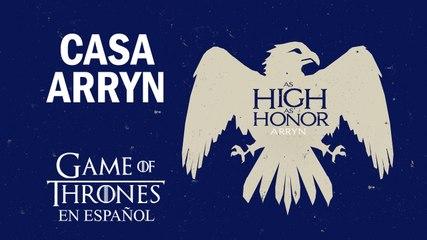 Casa Arryn | Game of Thrones en español