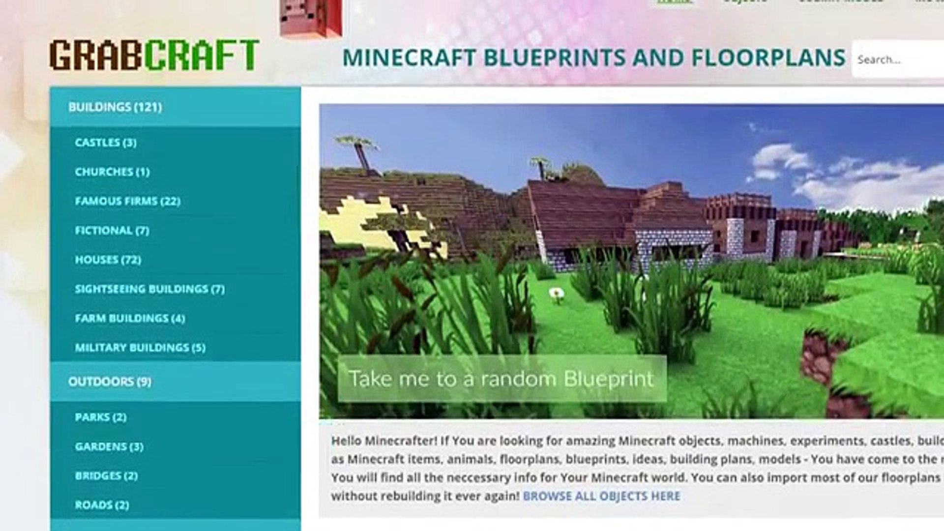 Want To Find Free Minecraft Awesome House Blueprints Video Dailymotion