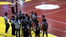 15th Unigames 2010 Adamson vs DLSU (56- set4c) SF volleyball Oct. 29, 2010