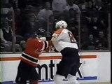 Eric Lindros vs Scott Stevens NHL Feb 25/93