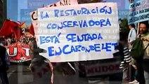Rafael Correa Ecuador, Protestas 17 de septiembre 2014 This is what happens in Ecuador
