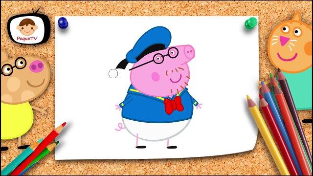 Peppa pig se veste de Mickey e toda turma - Peppa pig em português