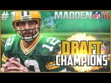 BEST DRAFT EVER!!! Madden NFL 16 Draft Champions - DRAFT AND GAMEPLAY EP4 GM1