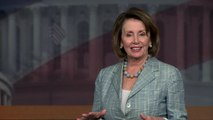 Nancy Pelosi addresses Democrats sit-in