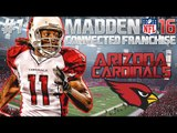 Madden NFL 16 CFM Online Head to Head - Arizona Cardinals Franchise - EP1