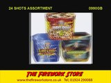 24 Shot Selection pack by Brothers Pyrotechnics