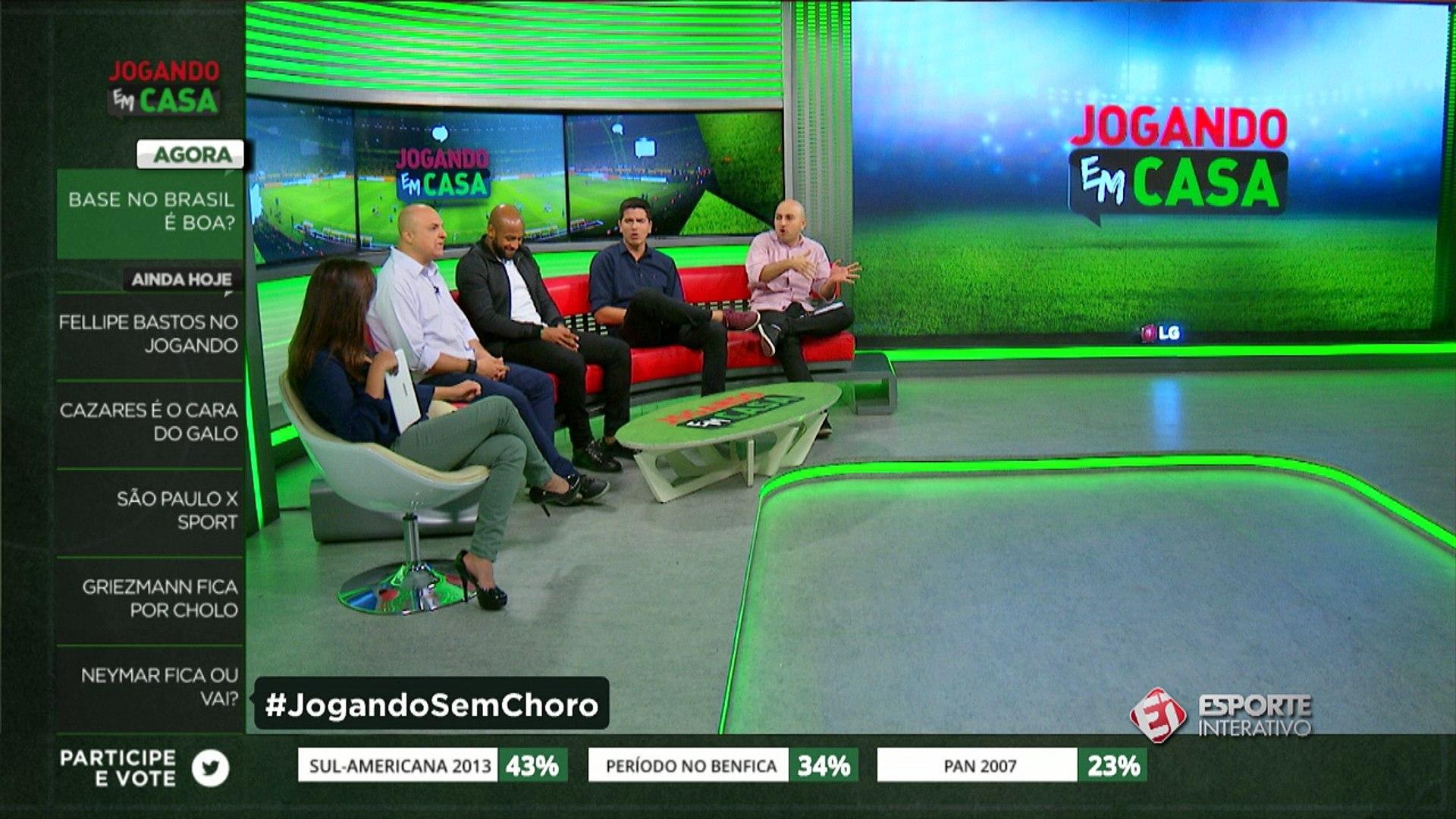 Andre Henning comenta choro de Thiago Silva e compara com jovem do Corinthians
