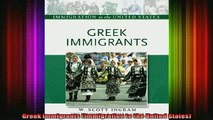 READ book  Greek Immigrants Immigration to the United States Full EBook