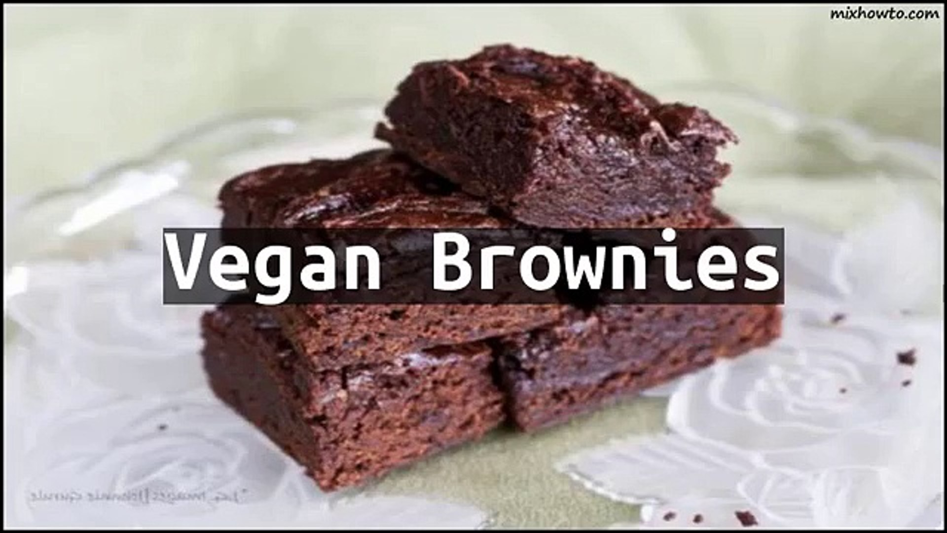 Recipe Vegan Brownies