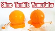 Slime Tombik Yumurtalar   Slime ile Kaplı Süpriz Yumurtalar