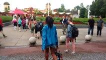 FGTB à Walibi: les visiteurs peuvent rentrer dans le parc