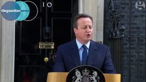UK PM resigns Cameron announces he will resign as prime minister before the autumn