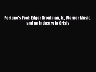 Edgar Bronfman Jr  Resource | Learn About, Share and Discuss