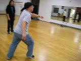 South Seattle Popping & Locking Class, Week 8 (Popping), 23 February