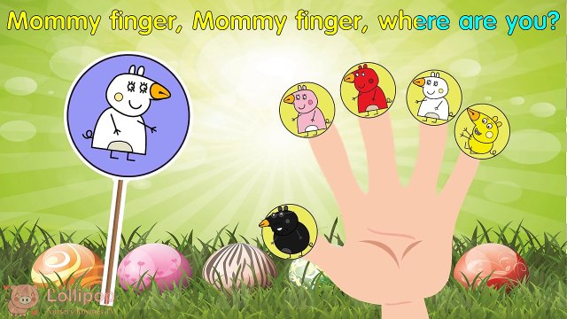 #Peppa Pig #Angry Birds #Lollipop  #Finger Family \ #Nursery Rhymes Lyrics and More