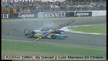 ARCHIVO DIFILM SCHUMACHER VS HILL 25/07/95