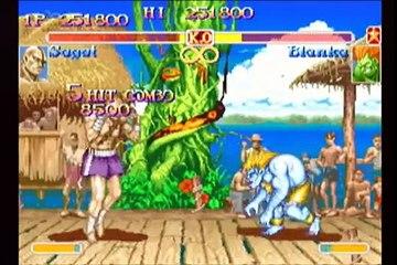 Sagat Playthrough - SUPER STREET FIGHTER II Turbo