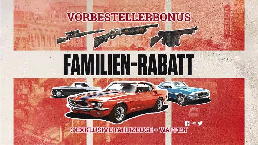 Mafia 3 - Familien-Rabatt Trailer (2016) Deutsch