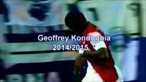 GEOFFREY KONDOGBIA _ Monaco _ Goals, Skills, Assists _ 2014_2015  (HD)