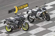 Comparatif Yamaha MT-10 vs BMW S1000R