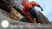 Trailer - Spider-Man PS4 (Insomniac fait une Exclu PS4 !)