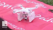 Drone delivers abortion pills to Northern Irish women