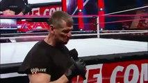 CM Punk vs McMahon (with Ryback and John Cena)