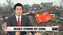 Tornado, hail storms kill at least 78 people in eastern China