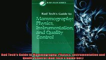 Free PDF Downlaod  Rad Techs Guide to Mammography Physics Instrumentation and Quality Control Rad Techs  DOWNLOAD ONLINE