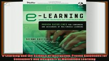 different   eLearning and the Science of Instruction Proven Guidelines for Consumers and Designers