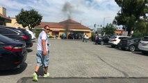 Un héros risque sa vie pour sauver un automobiliste d'une voiture en feu