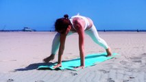 AK103 Interval Power Yoga Level 2 Intermediate Backbends Impact HIIT Cardio Weight Loss