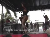 Orgullo Gay 2007 Patricia Manterola - Ojos Negros