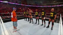 WWE Raw 7/19/10 John Cena assembles a team to combat The Nexus at SummerSlam