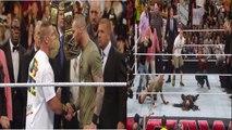 WWE - WWE Superstars starts fighting suddenly - First time happen in WWE - WWE Superstars