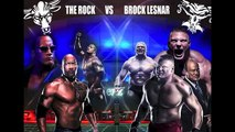 WWE - WWE Wrestlemania 33 promo The Rock vs Brock Lesnar - WWE Superstars wrestling