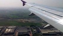 Atterraggio aereo da Sofia per Bergamo 10/09/2012 - Wizzair W64351