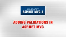 ASP.NET MVC 4 Tutorial In Urdu - Adding Validations in ASP.NET MVC application (1/3)
