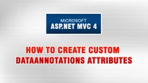 ASP.NET MVC 4 Tutorial In Urdu - How to create Custom DataAnnotation Attributes