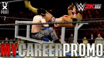 Let's Play - WWE 2K16 My Career Promo Pt.2 - The Infamous Tokyo Chair Shots [Extreme Moments Montage]