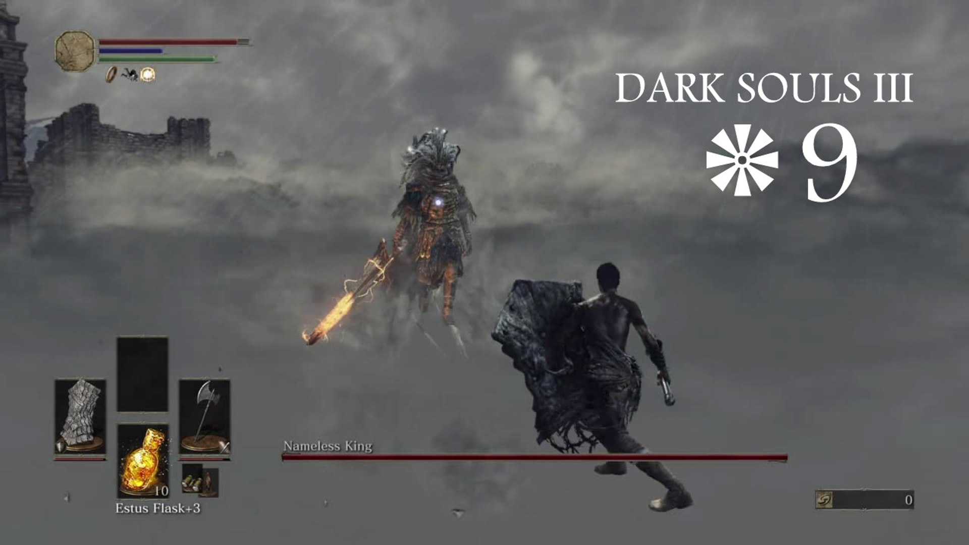 Dark Souls 3 Walkthrough Part 9 Vs Nameless King Without