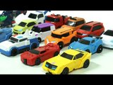 Transformers Tobot Adventure Mini 15 Car Toys Transformation 트랜스포머 또봇 어드벤처 미니  장난감 15대 자동차 로봇 변신 동영상