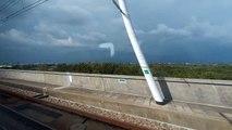 TAIWAN High Speed Rail 8/19/2015 Zuoying (south of Taiwan) to Taipei (north of Taiwan) Timelapse