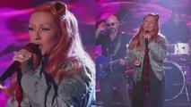 Christina Aguilera Performs Orlando Tribute 'Change' on 'Jimmy Kimmel'