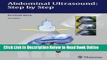 Read Abdominal Ultrasound: Step by Step  Ebook Online