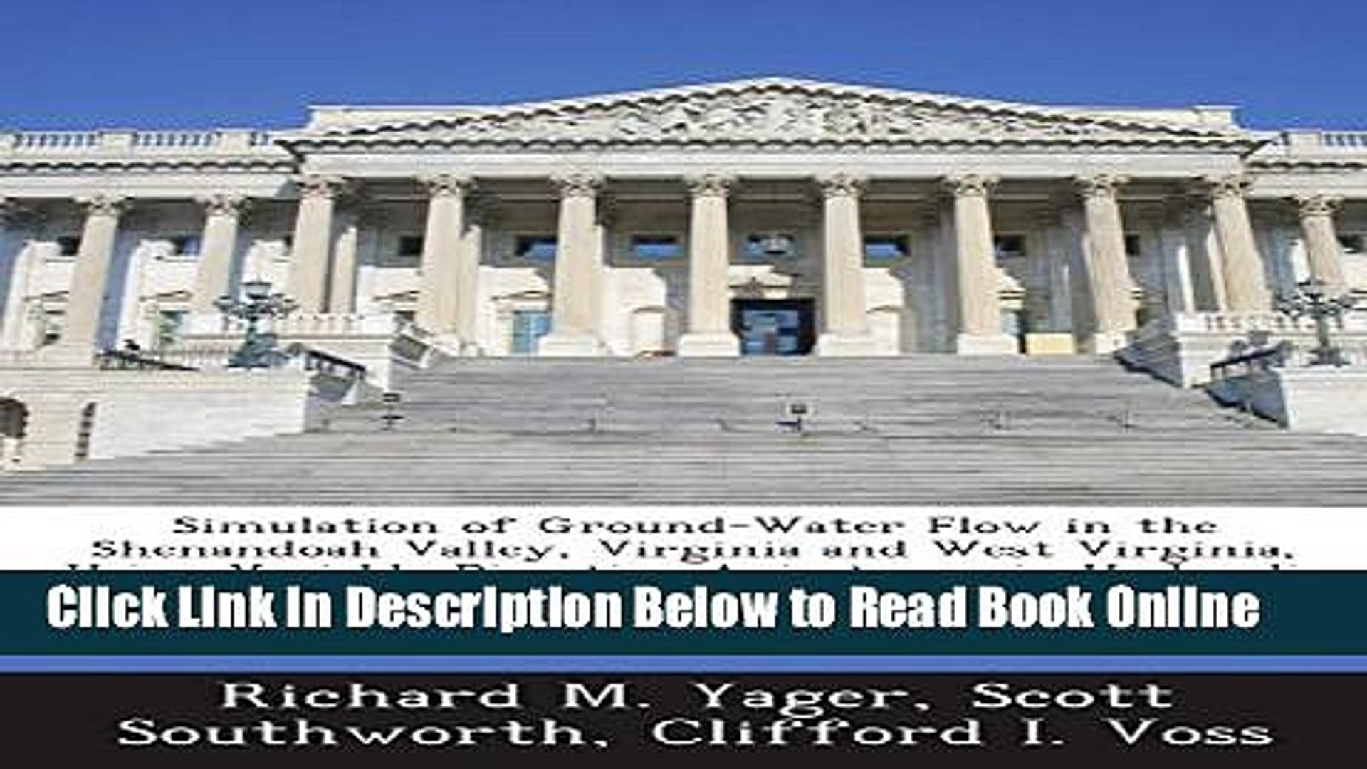 Read Simulation of Ground-Water Flow in the Shenandoah Valley, Virginia and West Virginia, Using